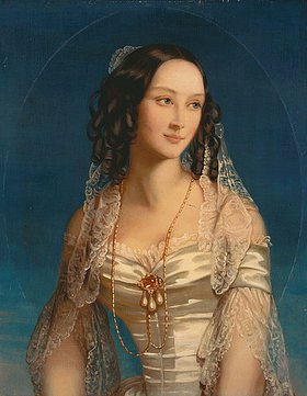Christina Robertson: Bildnis der Fürstin S. Susupolt (1810-93)