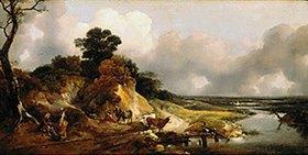 Thomas Gainsborough: Landschaft mit dem Dorf Cornard