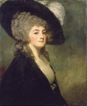 George Romney: Bildnis der Mrs. Harriet Greer