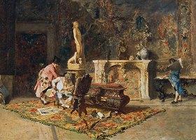 Mariano Fortuny: Die Kunstfreunde