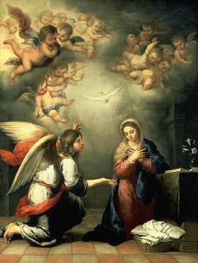 Bartolomé Estéban Murillo: Die Verkündigung Mariae