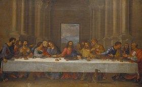 Nicolas Poussin: Das letzte Abendmahl. Kopie nach Leonardo da Vinci