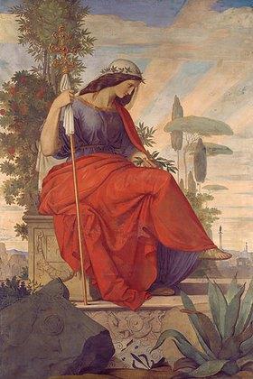 Philipp Veit: Italia. Einführung der Künste in Deutschland durch das Christent