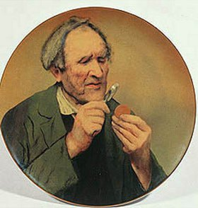 Anonym: Ein Numismatiker (2. Hälfte 19. Jahrhundert)