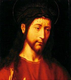 Rogier van der Weyden: Christus mit der Dornenkrone. (Detail)