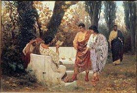 Stephan Bakalovitsch: Der römische Dichter Catull liest eines seiner Gedichte