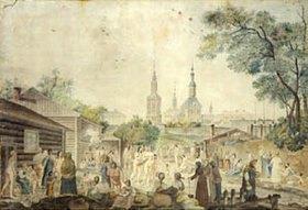 Gérard de la Barthe: Eine Badeanstalt in Moskau