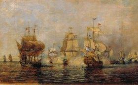 Alexej Petrowitsch Bogoljubov: Die erste russisch-schwedische Seeschlacht bei der Insel Esel