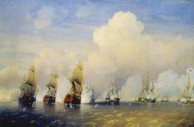 Alexej Petrowitsch Bogoljubov: Das russisch-schwedische Seegefecht bei Kronstadt im Jahre