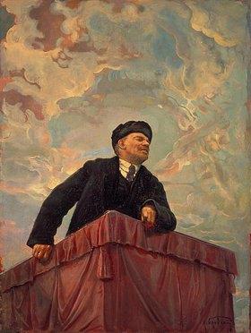 Isaak Brodskij: Lenin auf dem Rednerpult