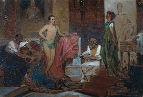 Feodor Andrejew Bronnikoff: Kaiser Augustus im Familienkreis