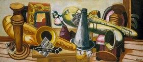 Max Beckmann: Stillleben mit Saxophonen
