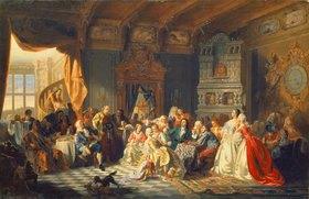 Stanislav Chlebovsky: Versammlung unter Zar Peter I. dem Grossen