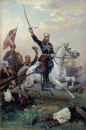 Nikolaj Dimitriev-Orensburgsky: General M.D.Skobelev zu Pferde im russisch-türkischen Krieg