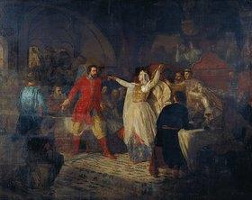 Nikolaj Dimitriev-Orensburgsky: Die Grossfürstin Sophia zerreist den Gürtel von Wassily Kossoy