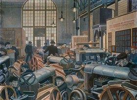 Pawel Filonow: In der Traktorenfabrik