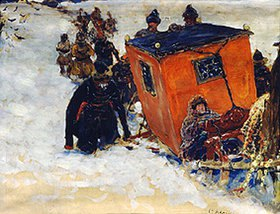 Sergej Iwanow: Die winterliche Pilgerfahrt des Zaren