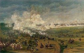 Wilhelm von Kobell: Sieg Napoleons über die österr./bayer. Truppen unter General Wrede bei Hanau am