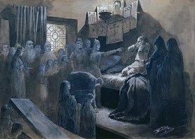 Mikhail Klodt: Iwan dem Schrecklichen erscheinen die Geister seiner Opfer