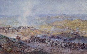 Pawel Kovalevsky: Szene aus dem russisch-türkischen Krieg