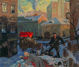Boris Michailowitsch Kustodiev: Der 27. Februar