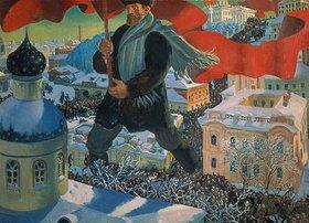 Boris Michailowitsch Kustodiev: Der Bolschewist
