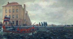Eugen E Lansere: Sankt Petersburg zu Beginn des 18. Jahrhunderts