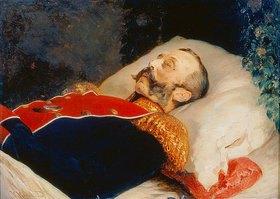 Konstantin Jegor Makovskij: Zar Alexander II. auf dem Totenbett