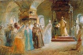 Konstantin Jegor Makovskij: Die Brautsuche des Zaren Alexej Michailowitsch