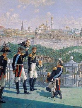 Nikolaj Matwejev: Der Dank König Friedrichs II. von Preussen an Moskau