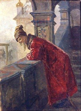 Nikolaj Wassiljewitsch Nevrev: Eine Bojare auf der Galerie