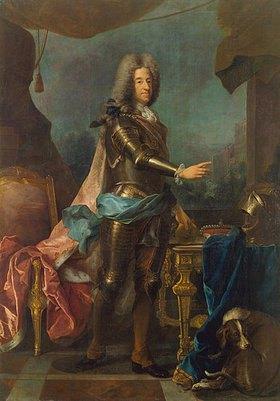 Joseph Vivien: Kurfürst Max Emanuel von Bayern, Bildnis, (1662-1726)