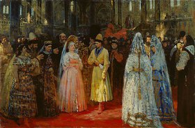 Ilja Efimowitsch Repin: Die Auswahl der Braut des Zaren