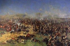 Francois (Frants) Roubaud: Die Schlacht von Borodino am 26. August 1812 (Die 3. Franz. Attacke.)