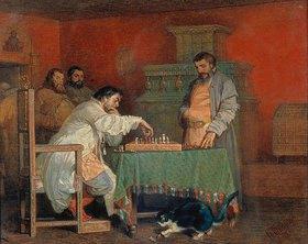 Wjatscheslaw Grigor Schwarz: Aus dem Leben der russischen Zaren: Beim Schachspiel