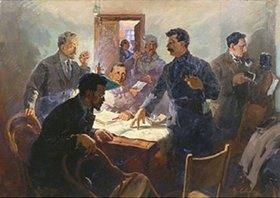 Wassilij Semjonowitsch Svarog: Die Anführer der Oktober-Revolution