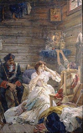 Pavel Alexandrow Swedomski: Lady Maria Hamilton vor der Hinrichtung