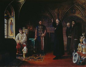 Jakov Prokopiewitsch Turlygin: Der Metropolit Philipp und Zar Iwan der Schreckliche