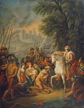 Grigorij Ugrjumov: Die Truppen Iwans des Schrecklichen erobern Kasan im Jahre 1552