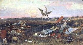 Viktor Wasnezow: Nach der Schlacht zwischen Prinz Igor und den Polowzen/Kumanen