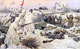 Iwan Alexejewitsch Wladimiroff: Die Kapitulation der finnischen Truppen 1940 im russisch-finnischen Krieg