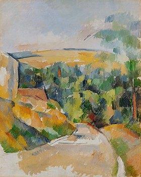 Paul Cézanne: Straßenbiegung
