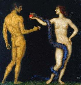 Franz von Stuck: Adam und Eva