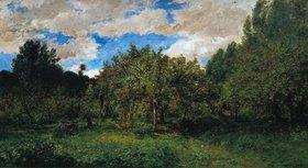 Charles-François Daubigny: Le Verger (Der Obstgarten zur Erntezeit)