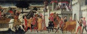 Giovanni di Ser Giovanni (Il Scheggia): Triumpfzug (rechte Seite)