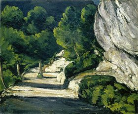 Paul Cézanne: Felslandschaft