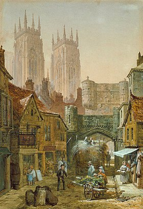 Louise Rayner: Bootham Bar, York