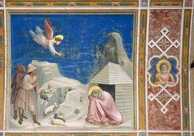 Giotto di Bondone: Der Traum des heiligen Joachim
