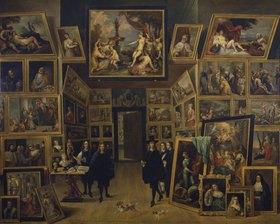David Teniers: Der Erzherzog Leopold Wilhelm in seiner Gemäldegalerie zu Brüssel