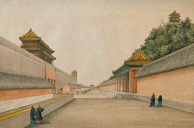 Iwan Alexandrow: Der Kaiserpalast in Peking (chinesische Zeichnung)